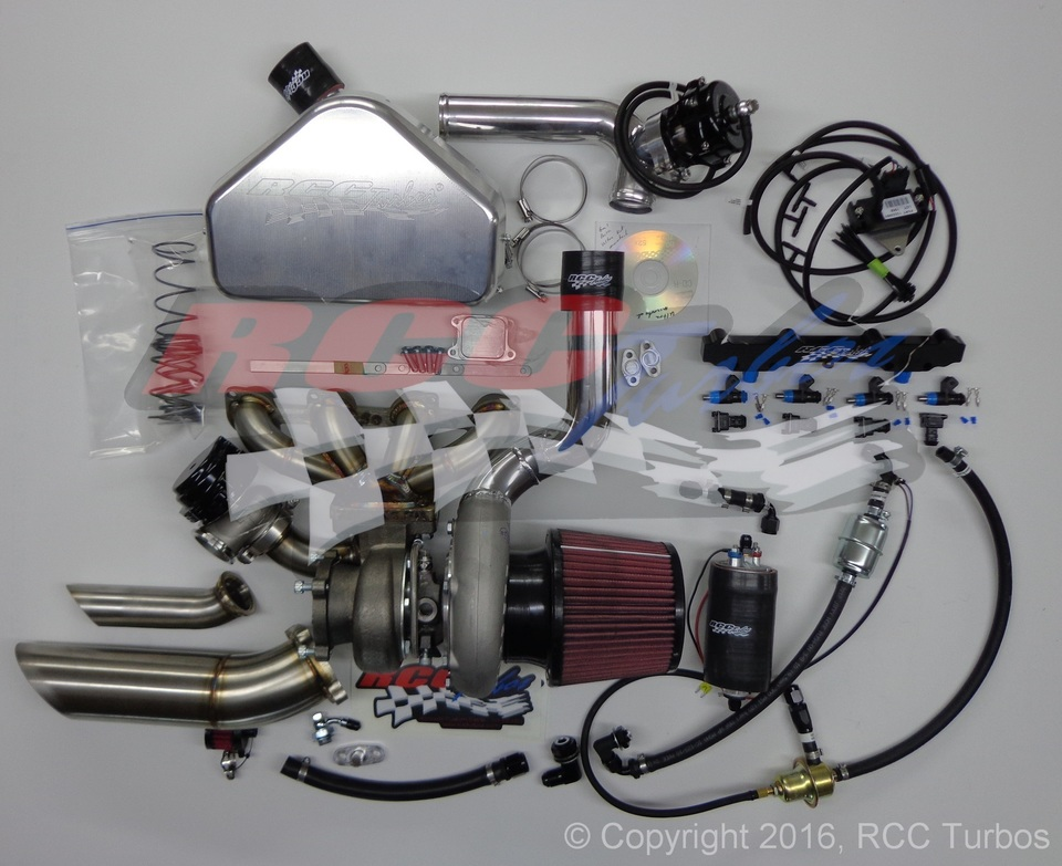 RCC Turbo 2008-2018 Hayabusa Street/Strip 550HP Kit